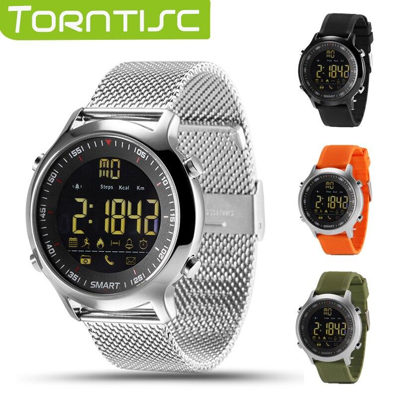 imágenes para EX18 Torntisc IP67 A Prueba de agua Soporte de Llamadas y SMS de alerta Actividades Deportivas Rastreador Smartwatch Reloj de Pulsera para Teléfonos Android IOS