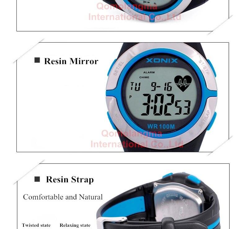 esporte relógios à prova dwaterproof água 100m