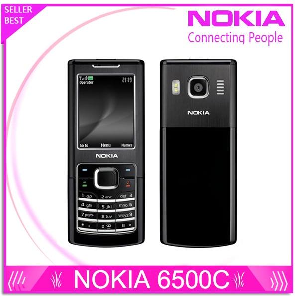 Восстановленное в Исходном Nokia 6500 Classic 6500C Разблокирована Мобильный Телефон 3 Г Quad-Band (Поддержка Русская Клавиатура)