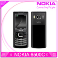 Restaurado original nokia 6500 classic 6500c teléfono móvil abierto 3g quad-band (teclado ruso)