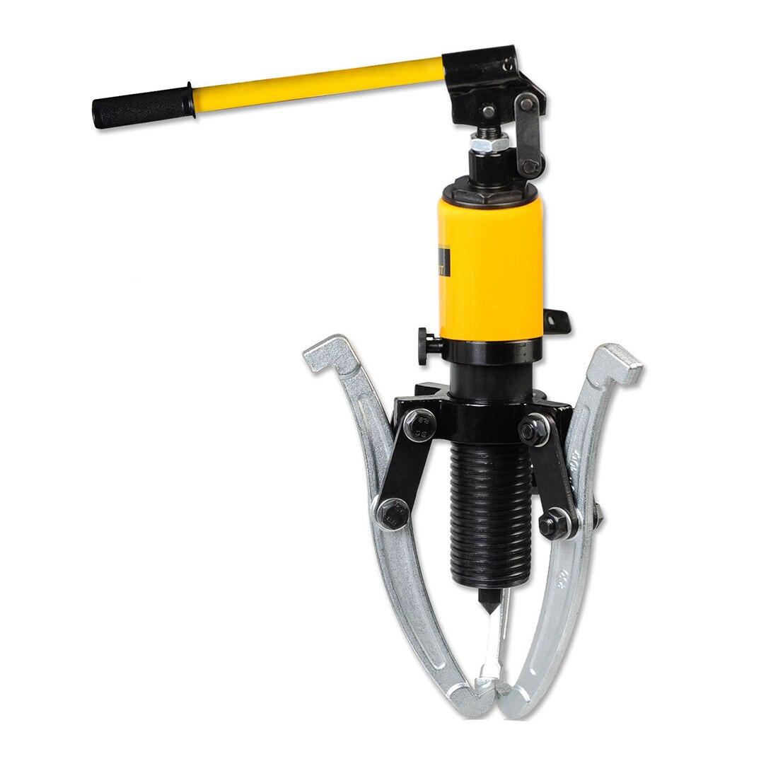 10 Ton Hydraulic Puller Bearing Hub Separator Garage Tool Set Kit professional common rail injector puller set diesel engine garage tool set t10055 tdi