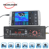 Car Radio FM MP3 player with Remote Control 1 DIN Support USB/SD/MMC Card Reader Hands free 1259BT Bluetooth Music Phone