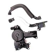 TUKE OEM VW Oil Water Separator + Exhaust Pipe For VW EOS Passat Jetta Golf Tiguan A4 1.8 2.0TSI 06H 103 495