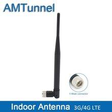 Antena interna 3g da antena 3g da antena 10dbi 2g gsm da antena 4g lte com conector masculino de f para o uso interno