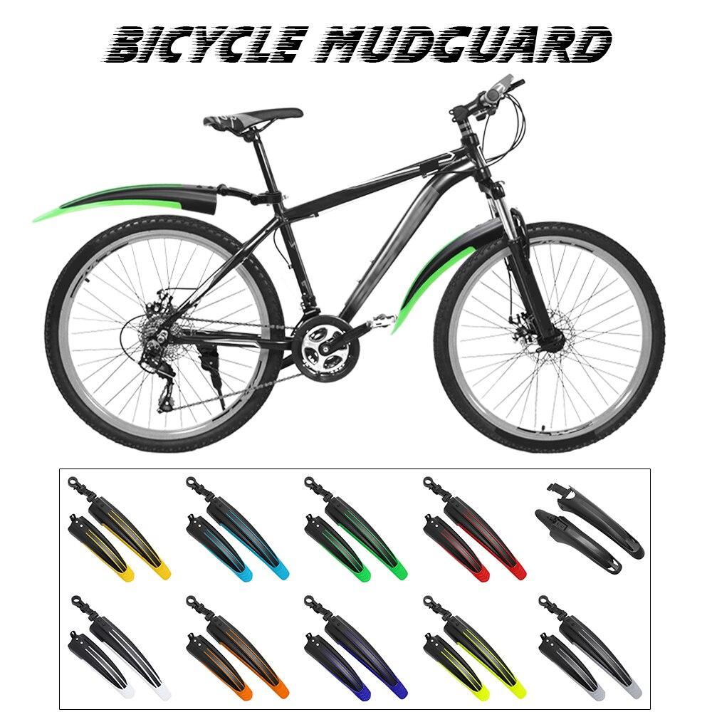 Unbreakable Bicycle Mudguard  Mountain Bike Fenders Front//Rear  Wings