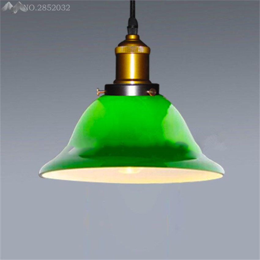 Us 67 92 20 Off Post Modern Lamps Pendant Lights Emerald Green Gl Edison Lamp Restaurant Bar Coffee Dining Room Hanging Light Fixture In