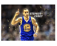 Hot Stephen Curry Custom Wall Paper HD Pictures and Prints poster Wall Sticker office home Decor U1-724