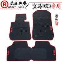 no odor waterproof green non slip rubber durable car floor mats for BMWEE39 E46 E60 E90 E91 E92 3Series 5 series