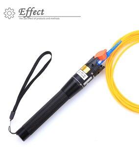 Image 5 - 5 peças/lote ftth vermelho caneta laser estilo 10mw luz cabo de fibra óptica testador localizador visual lc/fc/sc/st adaptador optica cabo catv