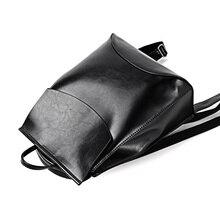 New Black Backpack Women High Quality Youth Leather Backpacks for Teenage Girls Female School Shoulder Bag Bagpack Mochila цены онлайн