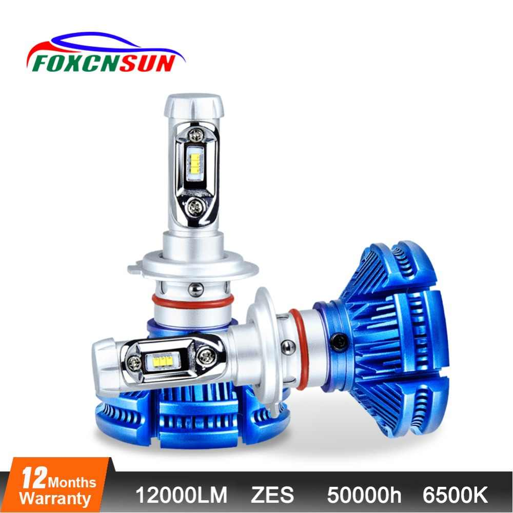 H4 LED Headlight bulb led ampoule H4 H7 H11 9005 9006 12000LM 50W 24 V 12 V 6500K bombillas led coche Auto Headlamp  Fog Light