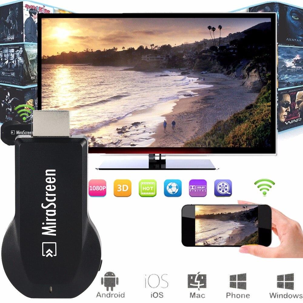 Wifi HDMI TV Stick Smart TV AV беспроводной адаптер видео приемник Displayer DLNA Airplay Miracast Airmirroring BHE5