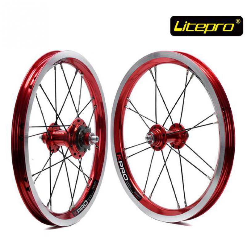 Litepro kpro 14 inch Folding Bike Wheels 412 BMX wheel set 16 20 Holes Single font