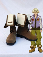 Tiger & Bunny Origami CycloneIvan Karelin Cosplay Boots Shoes Anime Party Cosplay Boots Custom Made Men Shoes