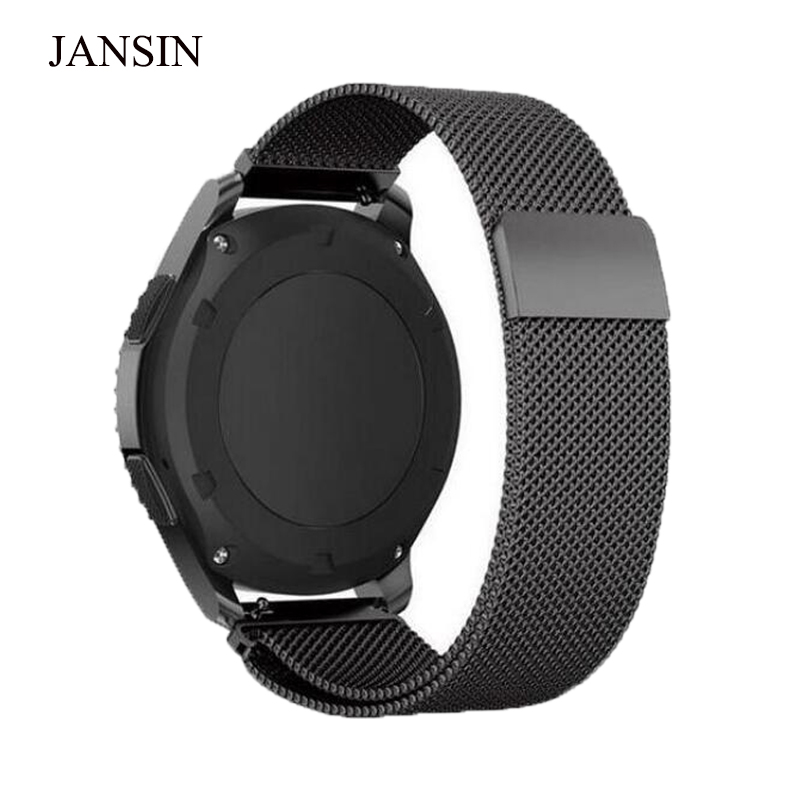 20mm 22mm Universal strap For Samsung Gear S3 Classic Frontier watch Band for samsung S2 sport Bracelet Strap huami amazfit bip 22mm 20mm nylon strap for samsung galaxy watch 42mm 46mm and gear sport s2 s3 frontier classic watch band huami amazfit