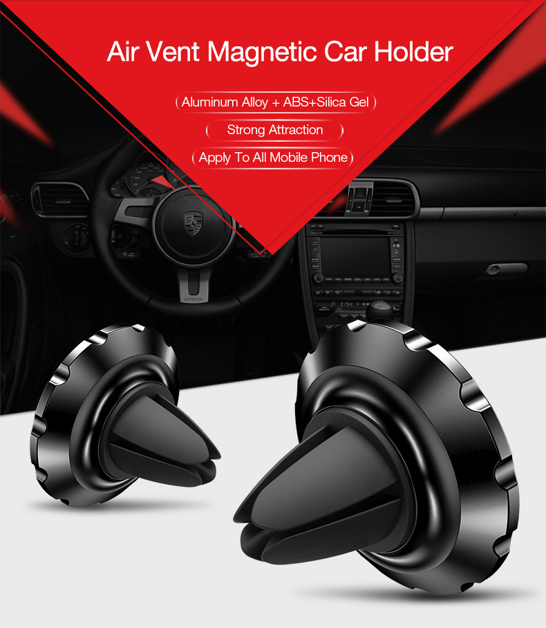 2 air vent monut GPS car holder