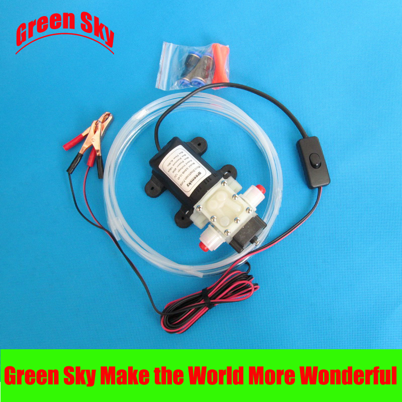 hot selling vehicle mounted kits clip type self-priming oil suction pump