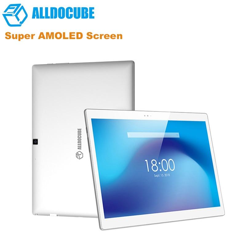 ALLDOCUBE X 10.5'' 2K Screen Android 8.1 Tablet PC MTK 8176 Hexa Core 1.7GHz 4GB RAM 64GB EMMC 8.0MP Fingerprint Tablets 8000mAh