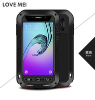 For Samsung A3 2016 A310 Original LOVE MEI Waterproof Powerful Metal Silicone Case For SAMSUNG Galaxy