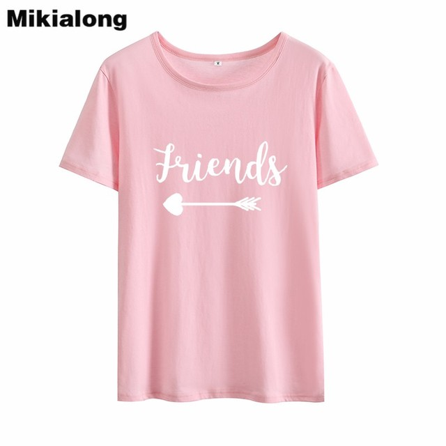 Mikialong Best Printed Tshirt Couple Clothes Lovely Fashion Design T Shirts Women T Shirts O Neck Basic Summer Clothes For Women T Shirts Aliexpress