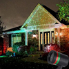 Red Green Holiday Light Christmas Laser Projector Lamp Outdoor LED Tree Light Xmas Lawn Garden Star