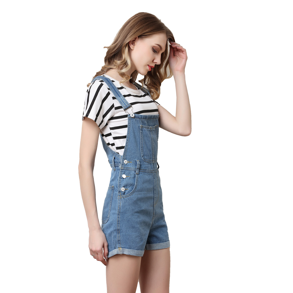 962dbbcb3ee LORDXX Denim Overalls Shorts Women Blue Summer Short Jumpsuits Playsuits  2018 New Romper combinaison short femme Jean shorts-in Rompers from Women s  ...