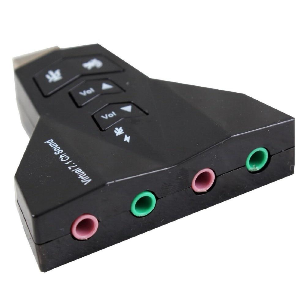 Tarjeta de sonido externa USB 7,1 de 2,0 canales con auriculares y conector de Micrófono Dual de 3,5mm, adaptador de Audio estéreo USB para ordenador portátil Interfaz de botella de coque, boquilla Manual para pistola de plástico, cabezal de riego por pulverización opcional, boquilla de 360 grados, interfaz de 26mm, 1 Uds.