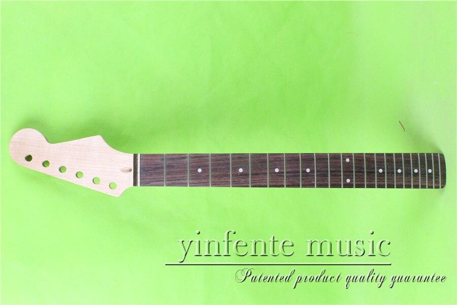 L 00168 #24.75 прямо голову Электрический Гитары шеи отличное качество палисандр гриф 22 лада клена сделал два предмета