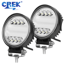 CREK 5 27W LED Work Light Offroad 4x4 ATV Forklift Headlight For SUV 4WD Tractor