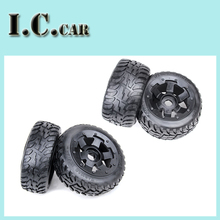 baja 5B second generation on road tire rear wheel assembly set for 1/5 HPI Baja 5B Parts Rovan KM