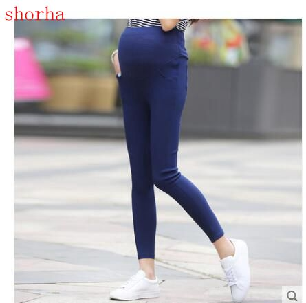 New Maternity Pencil Pants for pregnant Skinny leg pregnancy maternity clothes clothing leggings for pregnant winter autumn wear