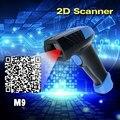 Высокое Качество M9 2D Проводной USB Лазерный Сканер Штрих-Кода QR Reader Auto Sense (без Нажмите Кнопку) и Виртуальный COM Порт на ПК