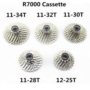 Image 2 - SHIMANO ruedas libres 105 CS 5800 R7000 para bicicleta de carretera, 11 velocidades, Cogs 12 25 11 28 11 32T 105 5800 R7000, Piñón de Cassette