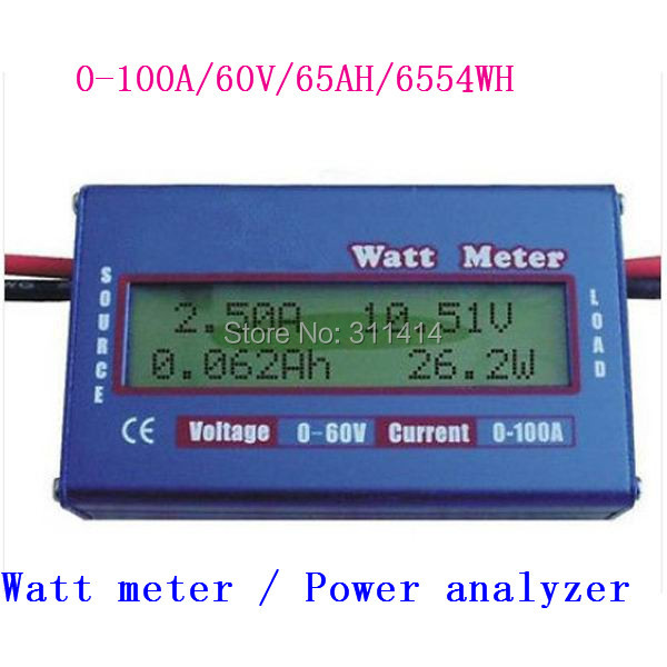 Power Watt Meter : Piece digital v a dc rc helicopter airplane battery