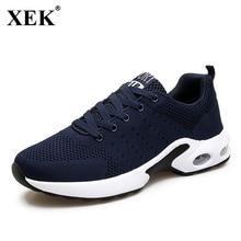 Xek Новинка 2017 года мужской спортивный Обувь Run след Бег открытый Обувь Для мужчин дышащие спортивные легкие мягкие Спортивная обувь для Для мужчин JH32