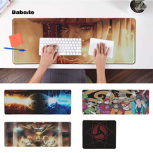 Babaite Beautiful Anime Naruto Durable Rubber Mouse Mat Pad Rubber PC Computer Gaming mousepad mairuige uzumaki naruto and uchiha sasuke jiraya anime roles mousepad diy mouse mat supper large of size gaming rubber mouse pad