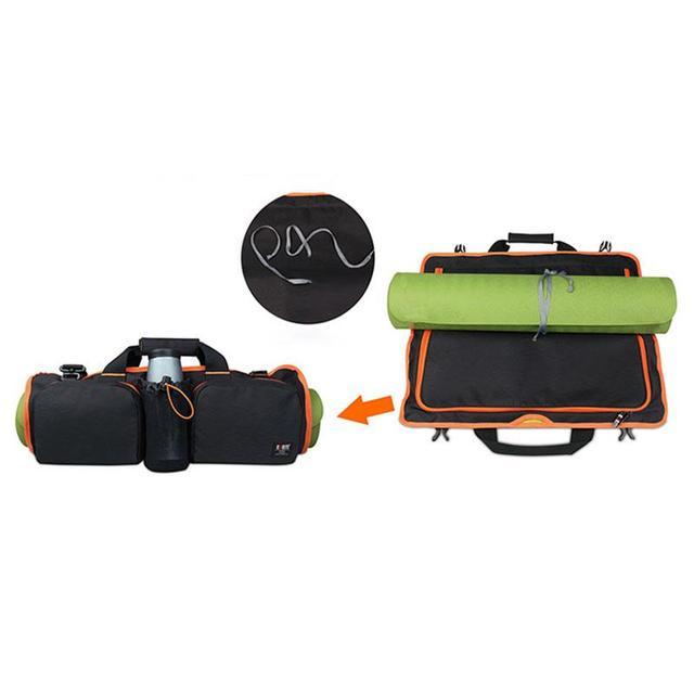 56*48 см Многофункциональный Фитнес Нейлон Yoga Спортивные Сумки Портативный Водонепроницаемый Регулируемый Ремень Yoga Mat Bag Carrier Горячие