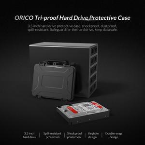 Защитный чехол ORICO для жесткого диска 3,5 дюйма, водонепроницаемый ударопрочный пыленепроницаемый защитный чехол с защелкой