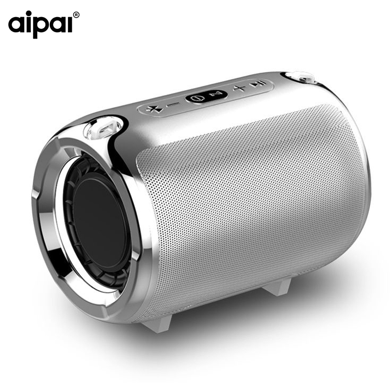 AIPAL Bass Bluetooth Speaker Portable Outdoor Subwoofer Mini Wireless metal Stereo Portable MP3 USB TF Player speaker цены