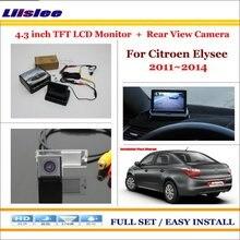 For Citroen Elysee 2011~2014 - Car Reverse Backup Rear Camera + 4.3