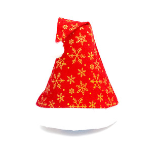 1pc Creative Christmas Santa Claus Hats Gold Silver Snow Caps XMAS Decoration New Year's Gifts Home Party Supplies