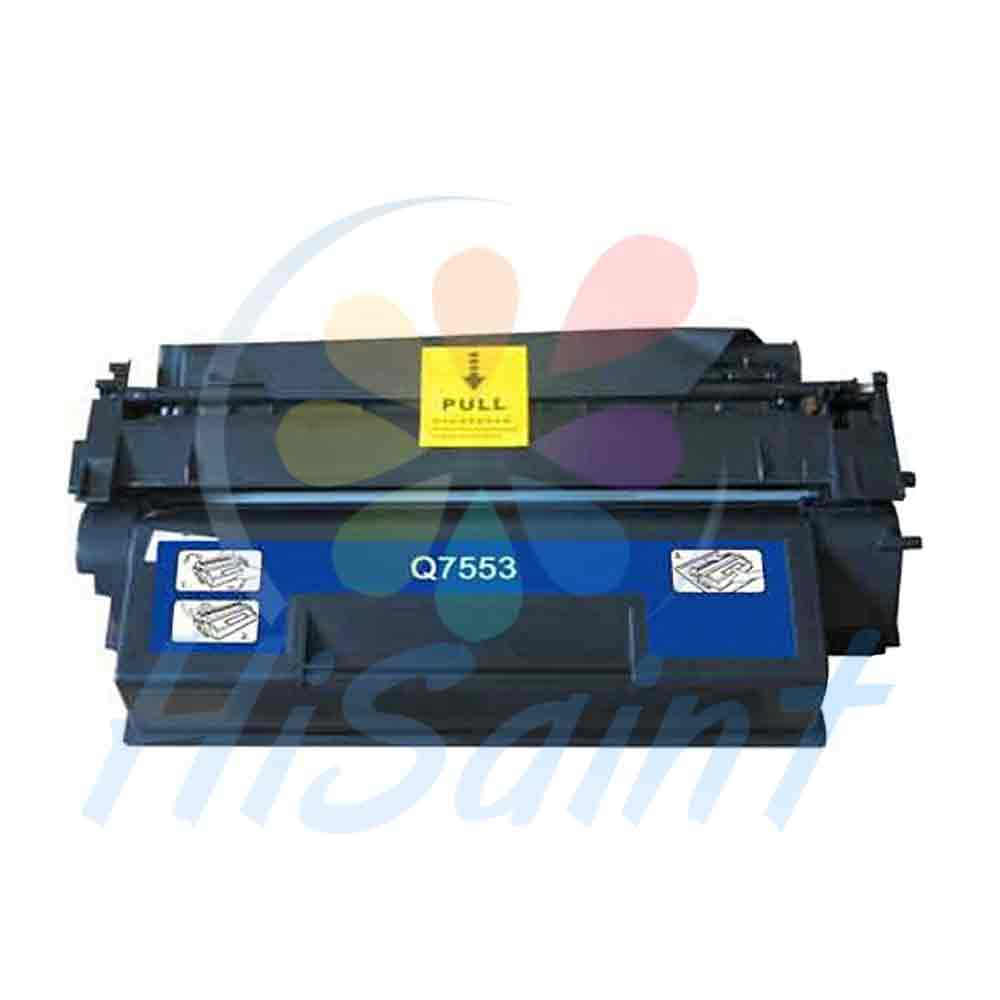 ФОТО Hot Sale Hisaint Compatible Replacement For HP Q7553X Black Toner Cartridge For HP LaserJet P2014/ P2014N/ P2015/ P2015D/ P2015N