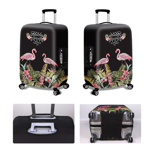 HMUNII New Thicker Travel Luggage Suitcase Protective Cover for Trunk Case Apply to 18''-32'' Suitcase Cover Elastic Perfectly 4