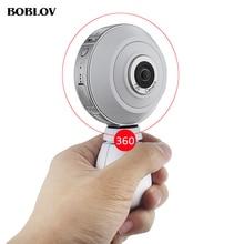 BOBLOV 720 Panorama Camera 1920*960 HD Recording 360 *360 Degree Double Fish Lens Wifi Sports Action Cam VR Mini Cameras