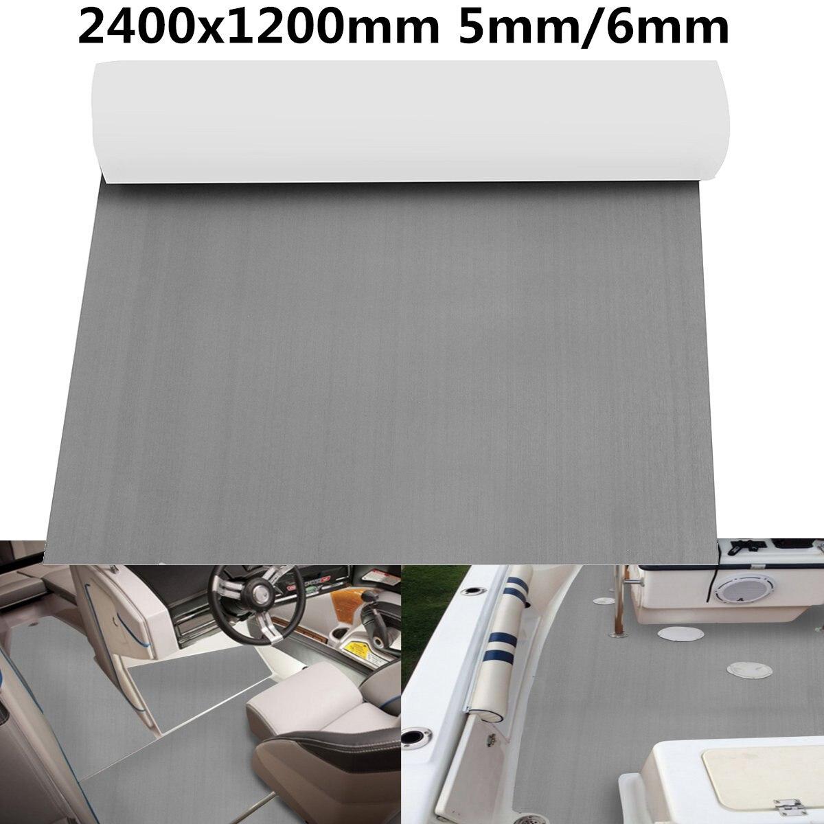 "5mm 2400x1200mm 94\""x47\"" EVA RV Touring Car Mat Boat Foam Mat <font><b>Floor</b></font> Teak Decking Yacht Sheet Pad"