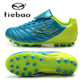 TIEBAO Professional Soccer Shoes Outdoor Sports Children's Kids Teenagers Boys AG Soles Sneakers Training Football Cleats Boots