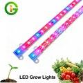 LED Crece La Luz DC12V IP68 Impermeable Hight Brillo 5630 LED Barra de Luz para Acuario Planta Invernadero Creciente.