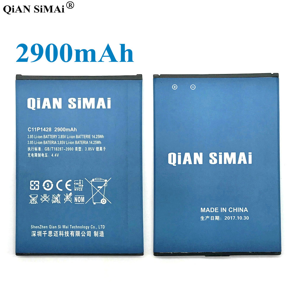 QiAN SiMAi New C11P1428 2900mAh <font><b>Battery</b></font> <font><b>For</b></font> <font><b>Asus</b></font> <font><b>Zenfone</b></font> <font><b>2</b></font> <font><b>Laser</b></font> <font><b>ZE500KL</b></font> ZE500KG Phone + Tracking Code image