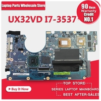 Laptop Motherboard UX32VD SSD Core I7 3517 CPU with 60 NP0MB1N00 A11 UX32VD Mainboard 100% Tested OK