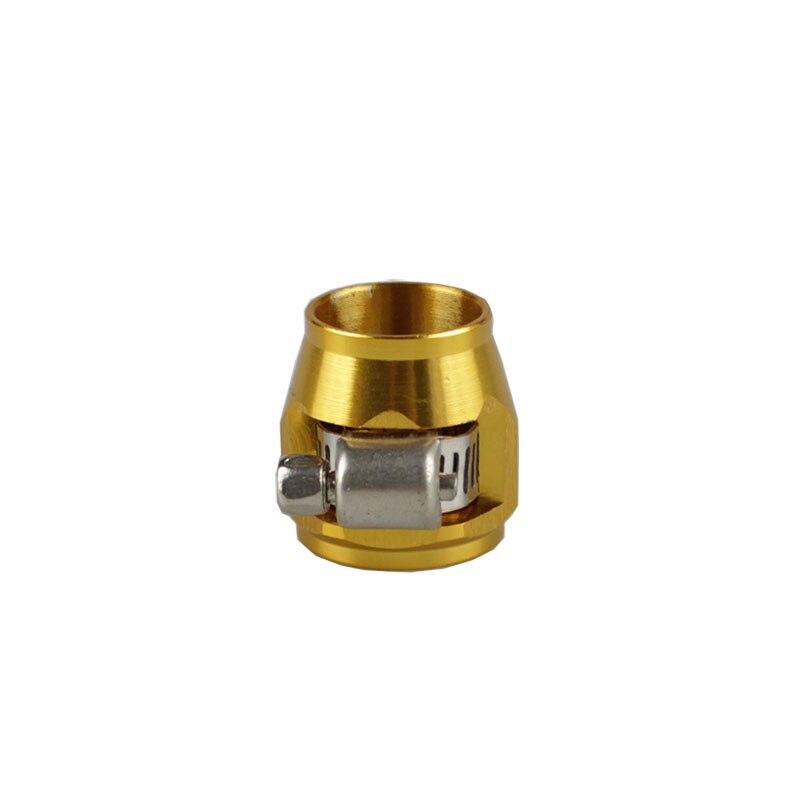 Rastp-красочные применяются к AN8 масляные зажимы для топливного шланга концевые Отделители Алюминиевый шланг соединитель для шланга зажимы RS-TC008-AN8